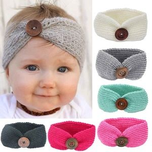 Other - 🌸Host Pick!🌸Baby Knit Crochet Top Knot Headband